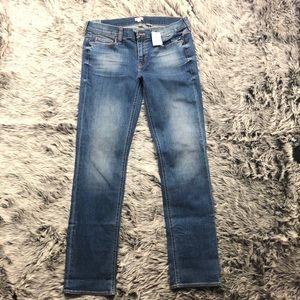 J. Crew stretch straight jeans